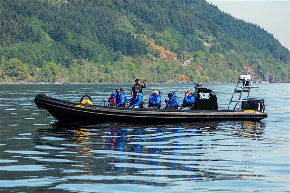 Beastie Boats on Loch Ness
